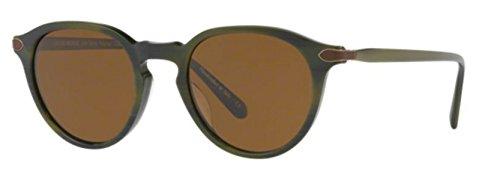 New Oliver Peoples OV 5353 QF RUE MARBEUF 1597N6 Black Green - 21 Glasses Rue