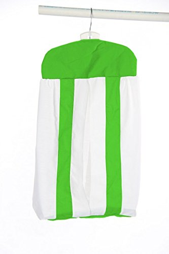BabyDoll Modern Hotel Style Diaper Stacker, Green Apple baby doll bedding 1250ds