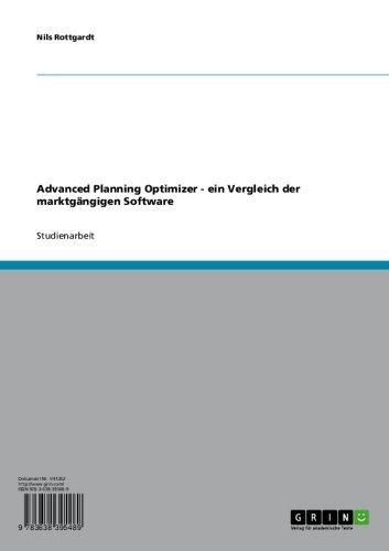 timizer - ein Vergleich der marktgängigen Software (German Edition) ()