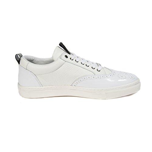 Sneakers Bianche Da Uomo Di Moda Dsquared2 Gr.44