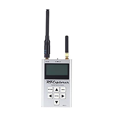 docooler RF Explorer-3G Combo 15-2700 MHz Handheld Digital Spectrum Analyzer LCD Display 15-2700 MHz 112KHz - 600MHz 113*70*25mm