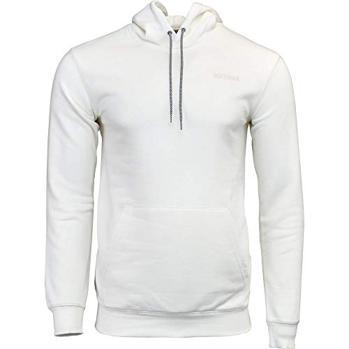 Asics Pullover - ASICS Tiger Men's OP Sweat Pullover Hoodie Cream Small