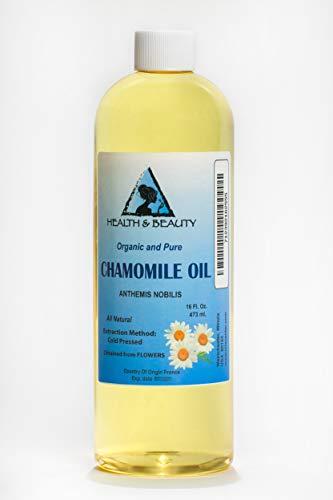 (Chamomile Oil Organic Cold Pressed Premium Natural 100% Pure 16)