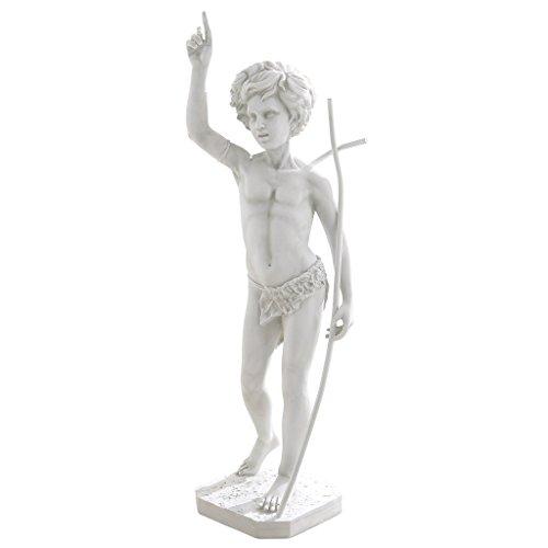 Design Toscano Saint John The Baptist Garden Statue For Sale