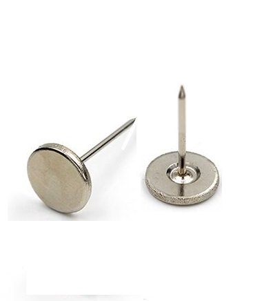 EAS Loss Prevention 16mm smooth flat pin for EAS tags - 1000 pcs
