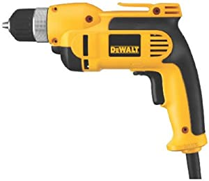 "Black & Decker/Dewalt Dwd110k Variable-Speed Pistol-Grip Drill, 3/8-In. Keyless Chuck, 7-Amp 3/8"" Corded Drill by Black & Decker/Dewalt"