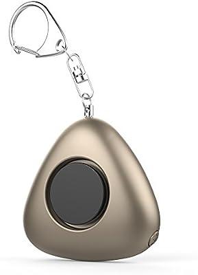 120dB Seguridad Personal alarma LED linterna llavero alarma ...