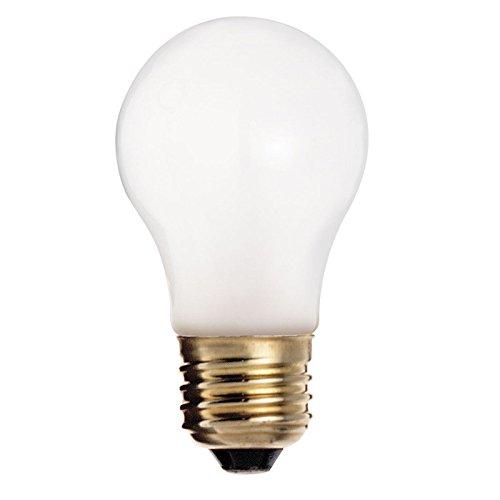 Satco S3815 A15 A Line Incandescent Lamp 25 Watt E26 Medium Base 150 Lumens Frosted