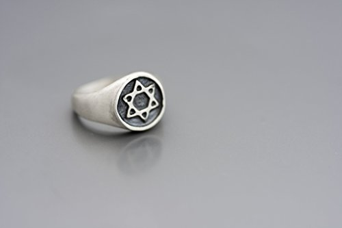 Silver oval signet ring inlaid with colorful Enamel Solid sterling silver Sizes US 2.25-11