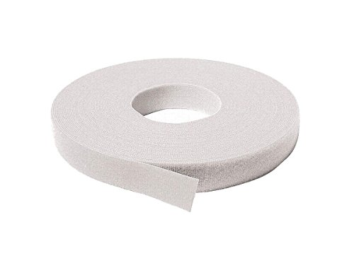 Velcro 170015 1/2in. x 25yds Back to Back Strap, White