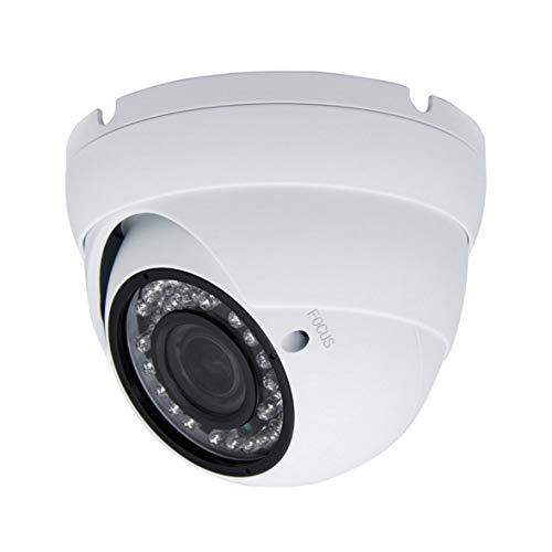 5MP 4MP Dome Super Hybrid Security Camera 1080P HD-TVI/CVI/AHD/960H CCTV Surveillance Security Camera 2.8-12mm Varifocal Lens Outdoor/Indoor 98ft IR Waterproof Day&Night Vision Inwerang Array Dome Cam