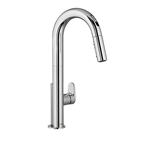 - American Standard 4931380.002 Beale Single-Handle Pull Down Kitchen Faucet with Selectronic Hands-Free Technology, Polished Chrome