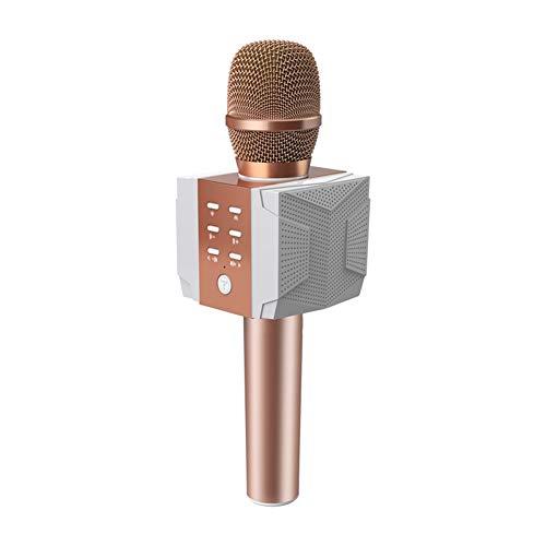 Micrófono Inalámbrico Teléfono Móvil K Canción Altavoz Bluetooth Micrófono De Audio, Altavoz Micrófono Bluetooth,...