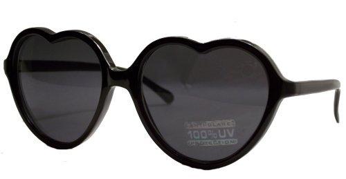 Black Lolita Heart Shaped - Shaped Heart Glasses Lolita