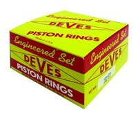 Mini Mania Peugeot 104, 204, 205 1972-87, Deves Piston Rings-Complete Set ()