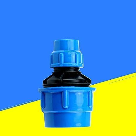 TF MDPE PE Adaptador de conector de tuber/ía de agua de pl/ástico para fontaner/ía reductor de compresi/ón 25 x 20mm adaptador MUFF hembra