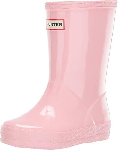Hunter Kids Unisex Original Kids' First Classic Gloss Rain Boot (Toddler) Candy Floss 13 M US Little Kid ()