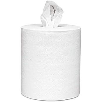 Scott 01032 Roll-Control Center-Pull Towels, 8 x 12, White, 700 per Roll (Case of 6 Rolls)