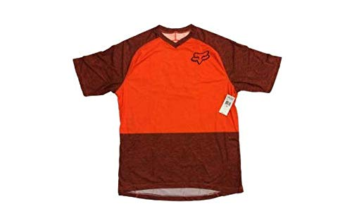 Short Flow Jersey Sleeve Fox - Fox Flow Short Sleeve Jersey - Closeout Small Orange