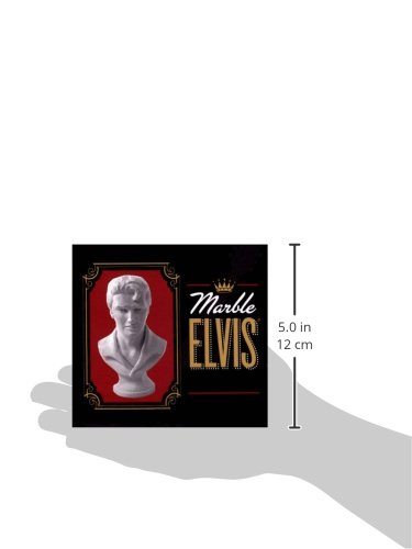 "ELVIS PRESLEY /"" THE KING/""  COLLECTORS MARBLE"