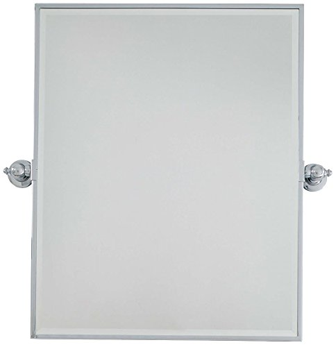 Minka Lavery 1441-77 Rectangle Bath Mirror, X-Large, Chrome by Minka Lavery