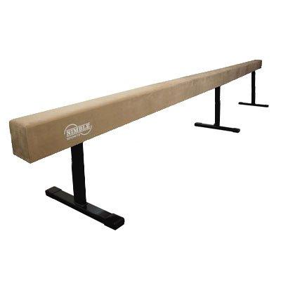12ft Tan 12in High Gymnastics Balance - Balance Beam 12 In High