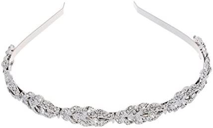 Diamante and Pearl Headband Wedding Prom Bridal Bridesmaid Hairband.