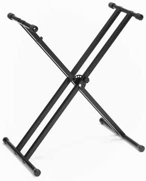 Braced Adjustable X-Style Keyboard Stand