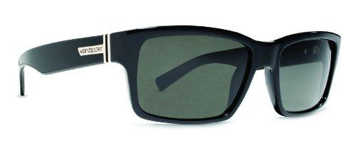 Amazon.com: Von Zipper Fulton anteojos de sol, color negro ...