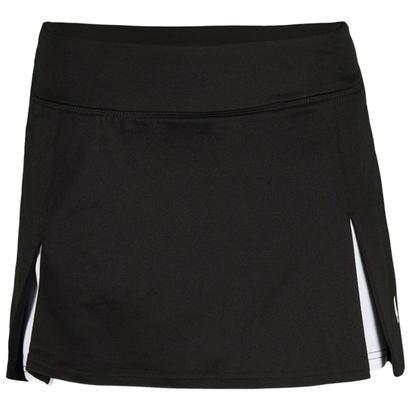 Prince Women's Knit Athletic Skirt,Black,M