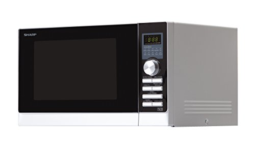 Sharp R843 Combination Oven Microwave with Double Grill, 25 Litre, 900 W