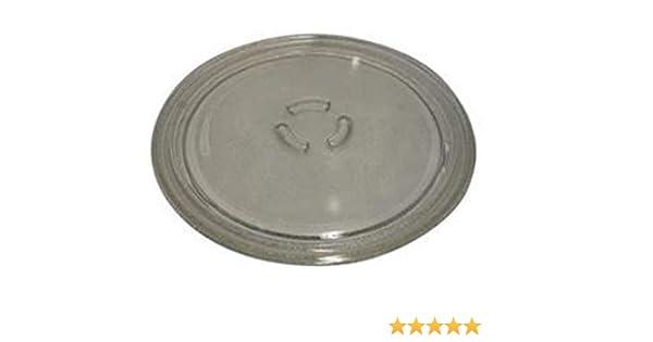 Whirlpool - Plato Giratorio de Cristal para microondas (28 cm ...