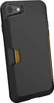 Smartish iPhone 7/8/SE (2020) Wallet Case - Wallet Slayer Vol. 1 [Slim + Protective + Grip] Credit Card Holder