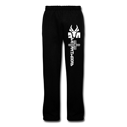 New-Lifestyle-Mens-ZEF-Die-Antwoord-Closed-Bottom-With-Pockets-Jersey-Sweatpants