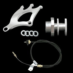 (UPR 1996-2004 Mustang Clutch Cable, Quadrant & Firewall Adjuster)