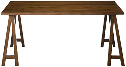 Christopher Knight Home Sabine Farmhouse Wood Dining Table, Natural Walnut Finish