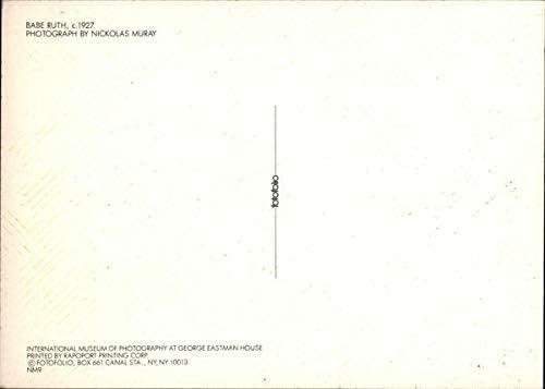 ca.1927 by N Muray BABE RUTH Kunst-Postkarte