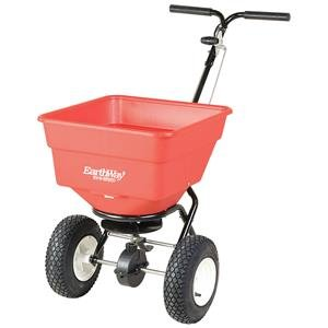 EarthWay 2170 EV-N-SPRED 100lb Ice Melt Sand Salt Snow De-Icers Seed Commercial Broadcast Spreader