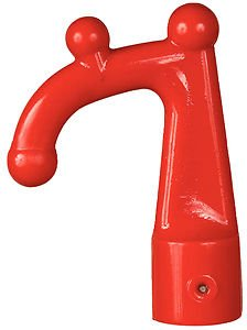 Beckson Marine Red Replacement Hook End For HookMate Boat Hook HM-R