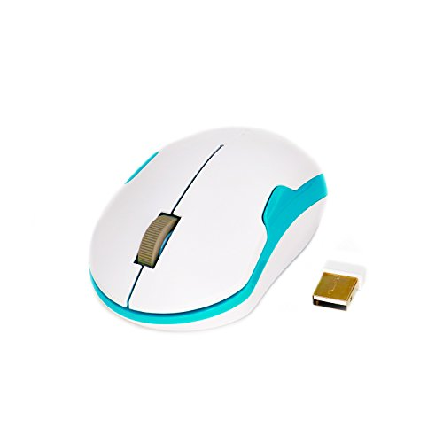 Wireless Mouse, Sonfan 2.4G Optical Mouse with USB Receiver 3 Adjustable DPI Levels 3 Buttons (Mouse Mini Wireless Optical Frequency)