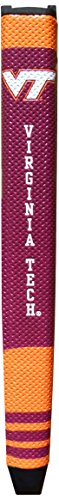 Team Golf NCAA Virginia Tech Hokies Golf Putter Grip with Removable Gel Top Ball Marker, Durable Wide Grip & Easy to - Cover Tech Putter