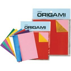 Aitoh Bulk Buy (3-Pack) Origami Paper 5.875 inch x 5.875 inch 18 Sheets Assorted Colors Double Sided Foil DS-2 by Aitoh