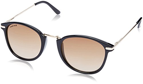 Fastrack UV Protected Oval Women's sunglasses (C063BR1F|50|Brown Color