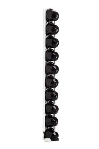 Dispensador de cápsulas, soporte para cápsulas Coffe erack Single N10 Blanco para Nespresso
