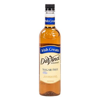 DaVinci Gourmet Sugar-Free Irish Cream Beverage Syrup (750 ml) -3 PACKS by Europe Standard