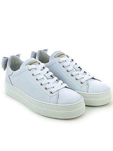 Blanco Zapatillas Giardini Bianco Para Mujer Nero BIq1p44