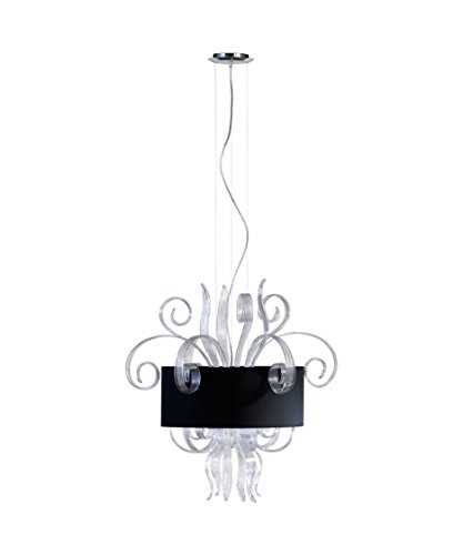 Glass Jellyfish Pendant Light in US - 5