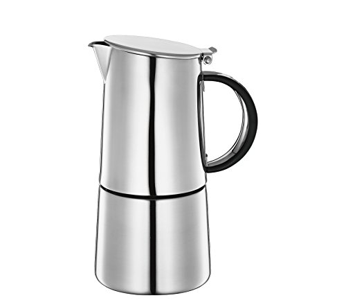 Coffee Cilio Nabucco 540185 Espresso Maker 4 Cups Stainless Steel Genuine NEW