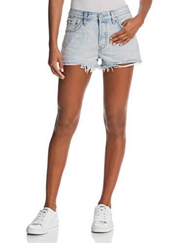 - Levi's Women's 501 Shorts (24 (US 00), Bleach Authentic)