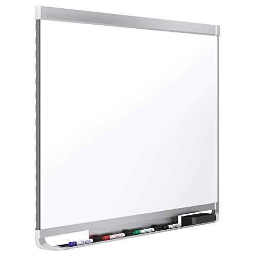 - Quartet Magnetic Whiteboard, Porcelain, White Board, Dry Erase Board, 6' x 4', Aluminum Frame, Prestige 2 Duramax (P557AP2)